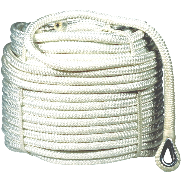 Anchor rope 12mm x 50m.